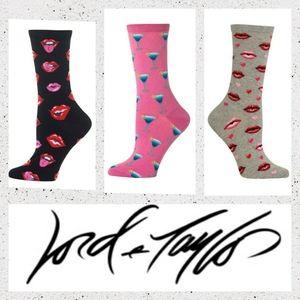 3 pairs Hot Sox BNWT,